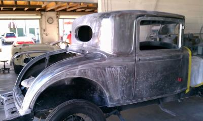 1931 Plymouth stripped