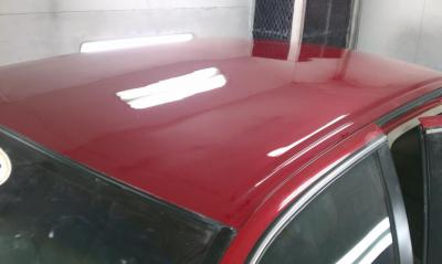 After pic of Cadillac with roof restored