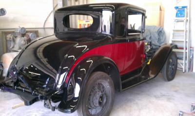 1931 Plymouth back in black (and red)